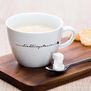 Besondere Geschenkideen aus der Region: Jumbo-Kaffeebecher Lieblingstasse