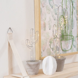 Besondere Geschenkideen in Ihrer Nähe: Leuchtobjekt Kaktus
