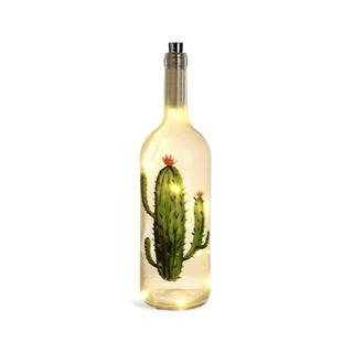 Besondere Geschenkideen in Ihrer Nähe: Lichtobjekt Kaktusflasche