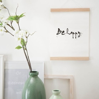 Besondere Geschenkideen in Ihrer Nähe: Poster Be happy