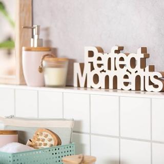 Besondere Geschenkideen in Ihrer Nähe: Schriftzug Perfect Moments