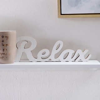 Besondere Geschenkideen in Ihrer Nähe: Schriftzug Relax