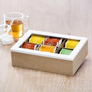 Besondere Geschenkideen in Ihrer Nähe: Teebox aus Holz