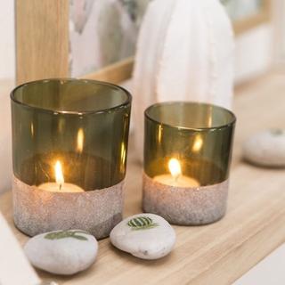 Besondere Geschenkideen in Ihrer Nähe: Windlicht aus Glas