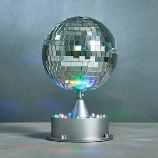 Geschenkideen aus der Region: Discokugel mit Beleuchtung