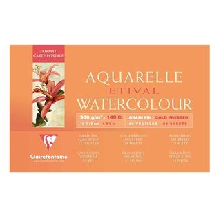 Besondere Geschenkideen aus Uelzen: Aquarell Zeichenblock von Clairefontaine