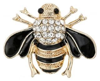 Besondere Geschenkideen aus der Region: Brosche - Happy Bee