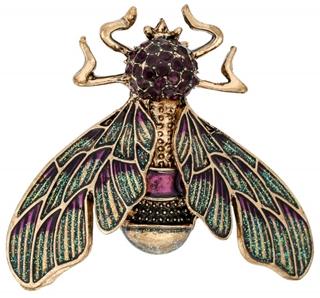 Besondere Geschenkideen aus der Region: Brosche - Sparkling Insect