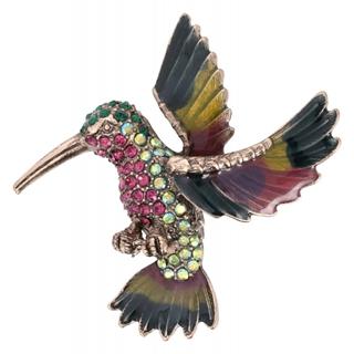 Besondere Geschenkideen aus der Region: Brosche - Bright Bird