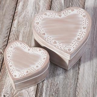 Besondere Geschenkideen aus der Region: Schmuckboxen - Herz