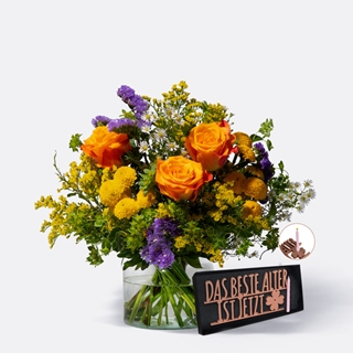 Besondere Geschenkideen aus Erlangen: Blumenstrauß