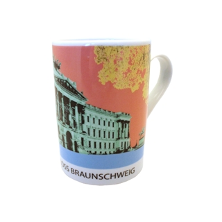 Besondere Geschenkideen aus Braunschweig: Künstlerbecher Braunschweiger Schloss