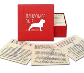Besondere Geschenkideen aus Braunschweig: Das Braunschweig Quiz