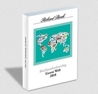 Besondere Geschenkideen aus Braunschweig: Briefmarkenkatalog Ganze Welt 2018