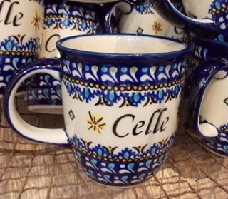 Besondere Geschenkideen in Celle: Bunzlauer Keramik Becher