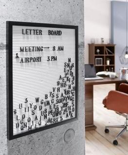 Besondere Geschenkideen aus der Region: Letter Board mit 290 Zeichen