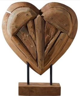 Besondere Geschenkideen aus der Region: Herz aus Holz