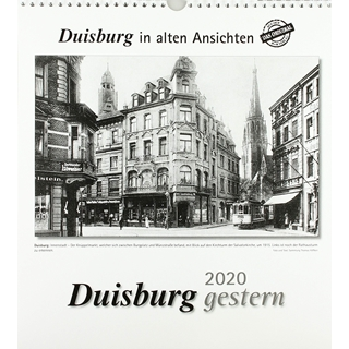Besondere Geschenkideen aus Duisburg: Kalender