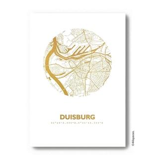 Besondere Geschenkideen aus Duisburg: Design-Kunstdruck