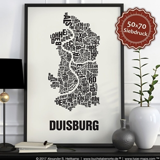 Besondere Geschenkideen aus Duisburg: Poster
