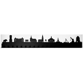 Besondere Geschenkideen aus Lüneburg: Garderobe Skyline Lüneburg
