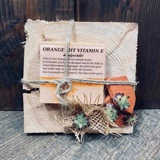 Besondere Geschenkideen aus Soltau: Handgesiedete Orangenseife
