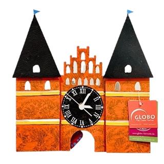 Besondere Geschenkideen aus Lübeck: Holstentor Uhr
