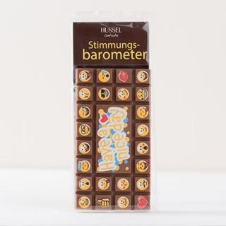 Besondere Geschenkideen aus Mönchengladbach: Schokoladen-Stimmungsbarometer