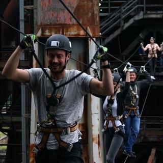 Besondere Geschenkideen aus Duisburg: Klettertag im Stahlwerk Duisburg