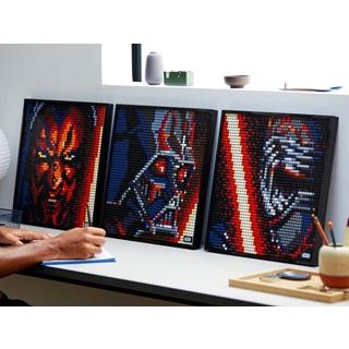 Besondere Geschenkideen aus Stuttgart: LEGO® Art Star Wars Kunstbild