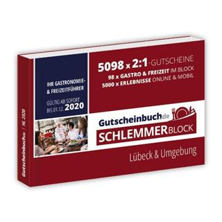 Besondere Geschenkideen aus Lübeck: Gutscheinbuch Lübeck 2020
