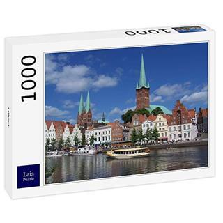 Besondere Geschenkideen aus Lübeck: Puzzle Lübeck 1000 Teile