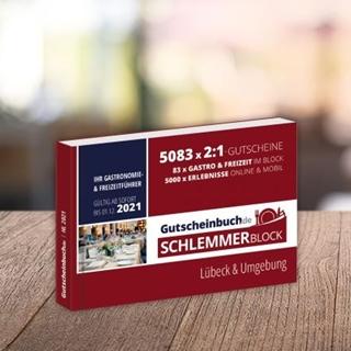 Besondere Geschenkideen aus Lübeck: Schlemmerblock Gutscheinbuch