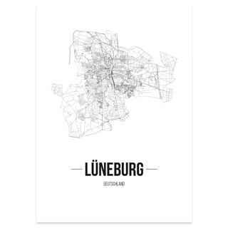 Besondere Geschenkideen aus Lüneburg: Stadtposter, Lüneburg