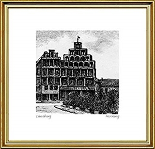 Besondere Geschenkideen aus Lüneburg: Original Radierung