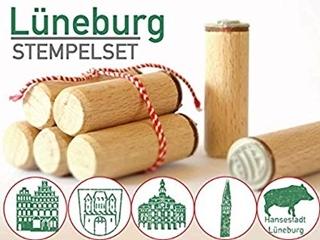 Besondere Geschenkideen aus Lüneburg: Lüneburg Stempelset