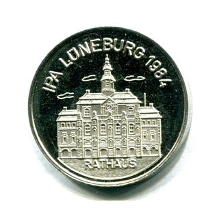 Besondere Geschenkideen aus Lüneburg: Seltene Lüneburg Medaille