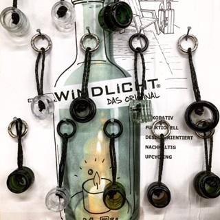 Besondere Geschenkideen aus Uelzen: Upcycling-Schlüsselanhänger aus Flaschen von MaBe