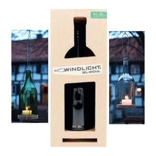 Besondere Geschenkideen aus Uelzen: Upcycling-Flaschenwindlicht zum Aufhängen