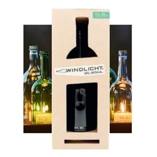 Besondere Geschenkideen aus Uelzen: Upcycling-Flaschenwindlicht von MaBe