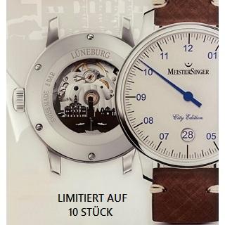 Besondere Geschenkideen aus Lüneburg: Meistersinger Lüneburg-Uhr