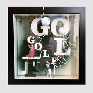 Besondere Geschenkideen aus Celle: Objektkasten für Golfer
