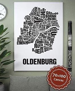 Besondere Geschenkideen aus Oldenburg: Poster