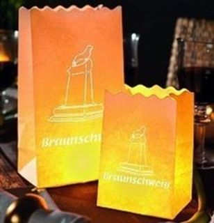 Besondere Geschenkideen aus Braunschweig: Braunschweig Lichttüte