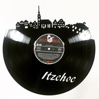 Besondere Geschenkideen aus Itzehoe: Künstlerisch gearbeitete Schallplatte