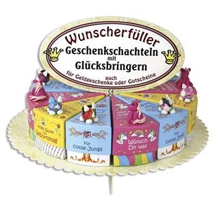 Besondere Geschenkideen aus Uelzen: Tortenstück-Geschenkschachteln