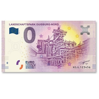 Besondere Geschenkideen aus Duisburg: 0 Euro Schein