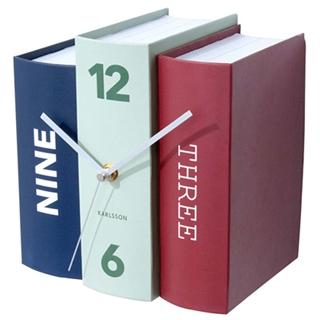 Besondere Geschenkideen aus Osnabrück: Karlsson Book Clock