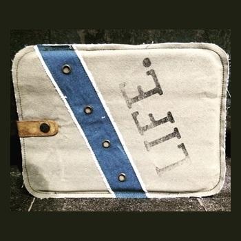 Besondere Geschenkideen aus Uelzen: Vintage-Tablettasche