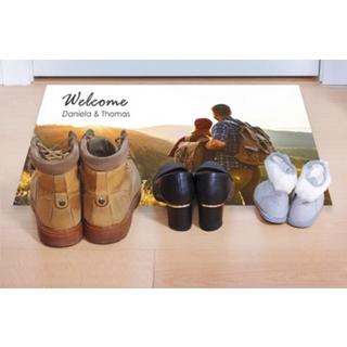 Besondere Geschenkideen aus Göttingen: Fußmatte mit Foto